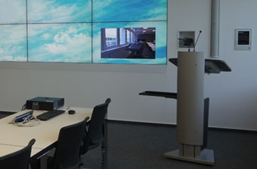 Rednerpult faircom futura jetzt im Fraunhofer IPK, Berlin