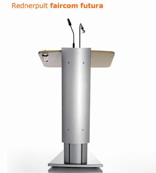 Neue Datenblätter zu unseren Rednerpult-Modellen