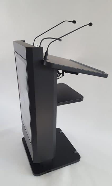Rednerpult elektrisch höhenverstellbar