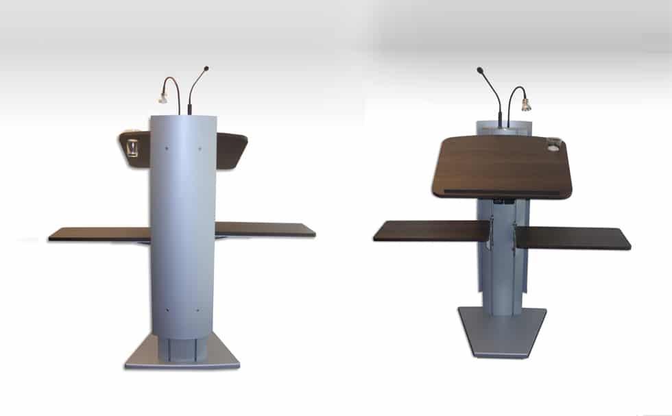 Rednerpult Holz