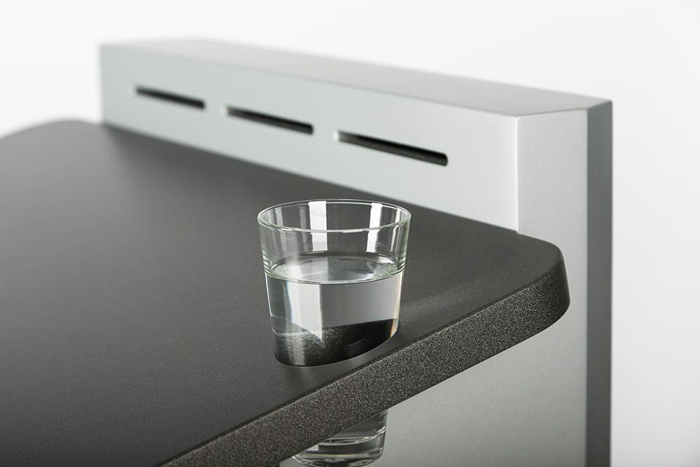 Halterung für Wasserglas