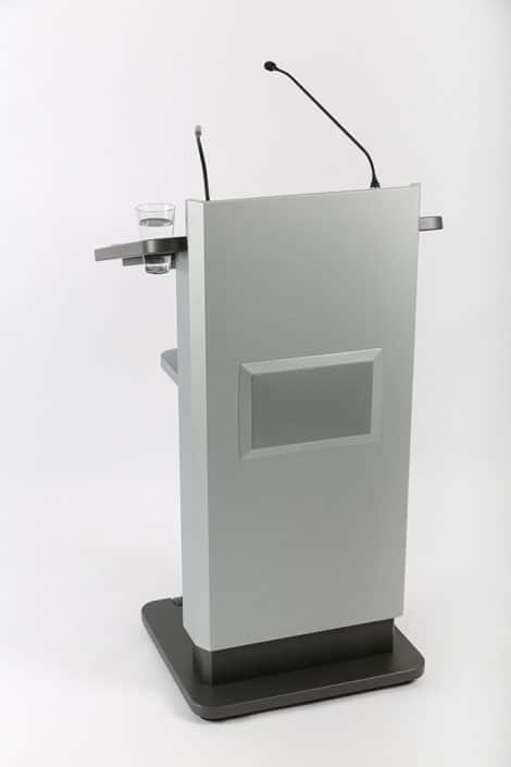 Rednerpult mit Audio-System
