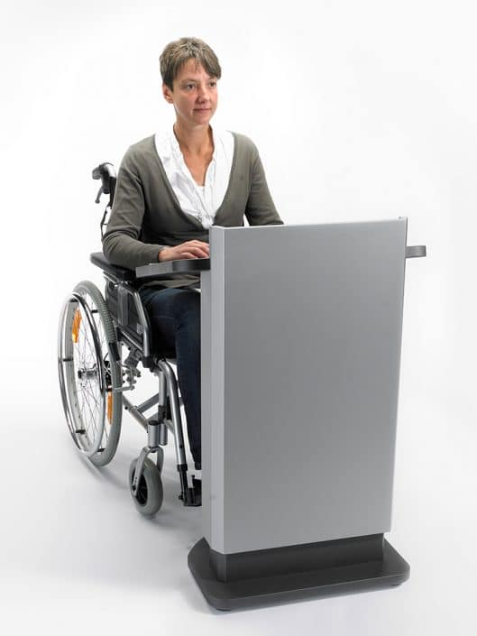 behindertengerechtes Pult