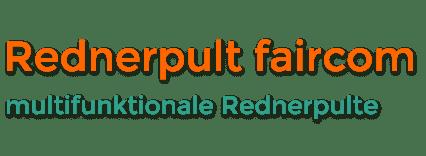 Rednerpult faircom