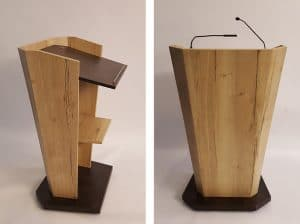 Rednerpult Skyline - aus Holz