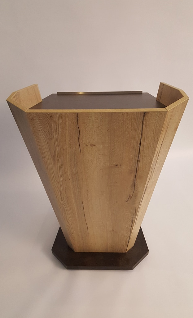 Holz-Rednerpult