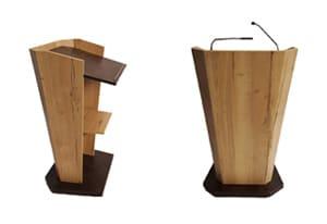 Rednerpult aus Holz kaufen
